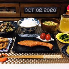 フォロー大歓迎/至福の時間/食欲の秋/キッチン雑貨/ランチョンマット/箸置き/...         10/2(金) 夕食  …