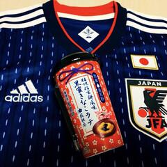 桔梗信玄餅風味 黒蜜きなこラテ/アジアカップ決勝/フォロー大歓迎 黒蜜きなこラテ🥤飲んで応援したけど2点失…