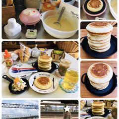Smile Baker Mini/3coins/パンケーキ/朝食/フォロー大歓迎/至福のひととき/...                 7/17…