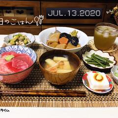 フォロー大歓迎/キッチン雑貨/暮らし/ランチョンマット/212 KITCHEN STORE/おうちごはん/...         7/13(月) 夕食  …