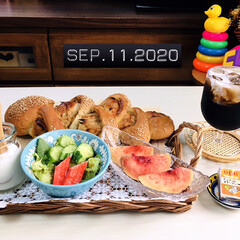 フォロー大歓迎/パン/ナチュラルキッチン/リミとも部/至福の時間/暮らし/...         9/11(金) 朝食 胡…