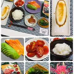 ナチュラルキッチン/夕食/曼珠沙華/明太子味付のり/男前豆腐/ご飯/...                     …
