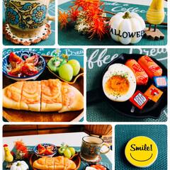 おうちごはん/至福の時間/食欲の秋/ベルキューブ人気のフレーバーセレクト/新潟県産 粒シャイン/Francfranc/...     10/14(月) 朝食 おはよう…