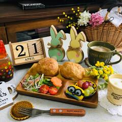 フード/朝食/3coins/シルク/春のフォト投稿キャンペーン/ありがとう平成/...            4/21(日) 朝…