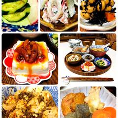 フォロー大歓迎/食べるラー油と柿の種/KOMERI/ナチュラルキッチン/至福の時間/おうちごはん/...        4/9(木) 夕食  ごは…