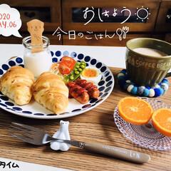 フォロー大歓迎/ランチョンマット/マーコット/ネスレ香るまろやかミルクティー/ハンプティダンプティ/なんじゃ村/...         5/6(水) 朝食  お…