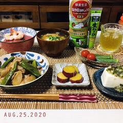 フォロー大歓迎/ランチョンマット/212kitchenstore/ナチュラルキッチン/至福の時間/暮らし/...         8/25(火) 夕食  …