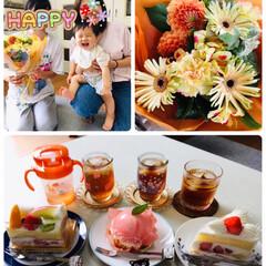 フォロー大歓迎/ありがとう/至福の時間/息子家族/ケーキ/プレゼント/...        2020.7.25(土) …