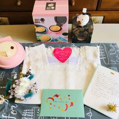 ありがとう/母の日プレゼント/令和の一枚/フォロー大歓迎/至福のひととき/LIMIA/...      娘から母の日のプレゼント🎁が届…
