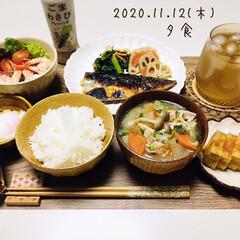 八幡屋礒五郎 七味唐辛子 缶 14g(カクテル)を使ったクチコミ「       11/12(木) 夕食  …」