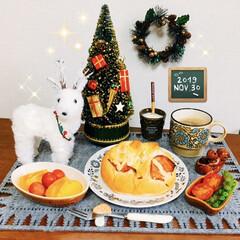 ランチョンマット/アテーナ/至福の時間/おうちごはん/クリスマス雑貨/朝食/...         11/30(土) 朝食 …