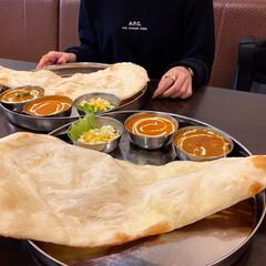 コールスロー/ナン/カレー/フォロー大歓迎/リミとも部/ガネーシャ/...  インド料理レストラン ガネーシャでラン…