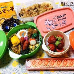 ランチョンマット/フォロー大歓迎/Furutaむぎっ子/丸美屋ぐでたまかまぼこ/コンビセット/レトロ鍋型ランチボックス/...        3/12(木) 主人弁当🍱…