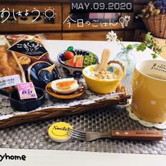 フォロー大歓迎/stayhome/おうち時間/おうちタイム/Francfranc/ドライフラワー/...          5/9(土) 朝食  …