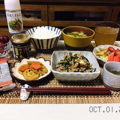 フライドオニオン/フォロー大歓迎/味付のり/ご飯にのっけてうまい!たべるスタミ.../和風たまねぎドレッシング/キッチン雑貨/...         10/1(木) 夕食  …