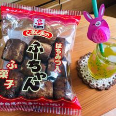 しきしま はちみつ入りふ菓子 ふーちゃん 10本×10袋(その他和菓子、中華菓子)を使ったクチコミ「             5/26(日)…」