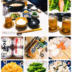 ミツカン 〆まで美味しいごま豆乳鍋つゆ ストレート / ミツカン | ミツカン(なべつゆ、なべスープ)を使ったクチコミ「       11/26(火) 夕食  …」