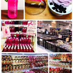 おやつ/買い物/鍋スープ/ソラン・デ・カブラス ピンクボトル/スーパー/スイーツ/... スーパーの鍋スープ🥘売り場が広くなってた…