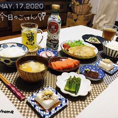 風景/フォロー大歓迎/ツツジ/田植え/ランチョンマット/至福の時間/...         5/17(日) 夕食 ご…