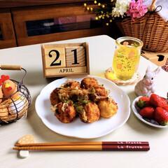 ヤマザキ/春のパンまつり白いフローラルディッシュ/ナチュラルキッチン/昼食/シルク/3coins/...            4/21(日) 昼…