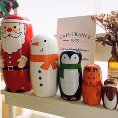 フォロー大歓迎/オーナメント 足ぶら雪だるま/オーナメント クリスマスマトリョーシカ/アテーナ/KOMERI/salut!/...        2020.11.23(月)…(2枚目)