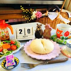 イースター/フード/ミキハウス/SaIut!/ナチュラルキッチン/朝食/...          4/20(土) 朝食 …