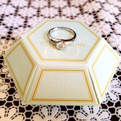 フォロー大歓迎/婚約指輪  🖥録画してた恋つづ観終わりました☺️ …