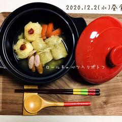 フォロー大歓迎/リミとも部/暮らし/シルク/カラー土鍋/100均/...        12/2(水) 昼食 DA…