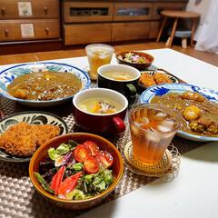 カレー/夏野菜/おうちごはん/簡単レシピ/LIMIAごはんクラブ/夏野菜deお料理/...  🏠おうちごはん🍽 *カレーライス🍛 *…(1枚目)