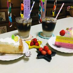 娘の誕生日/ケーキ/コージーコーナー/フォロー大歓迎/至福のひととき/LIMIAスイーツ愛好会/...              7/7(日) …(1枚目)