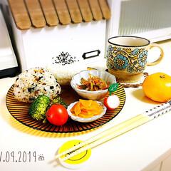 食欲の秋/おうちごはん/シャンブル/おにぎり/昼食/SaIut!/...                     …