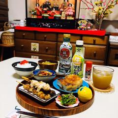 ヤマサ 鮮度生活 減塩しょうゆ200ml×1ケース(その他醤油)を使ったクチコミ「       2/27(木) 夕食  筋…」