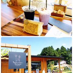 フォロー大歓迎/至福の時間/シフォン/雪室アイスコーヒー/ぶどうラテ/manmaru terrace/...        2020.8.14(金) …(2枚目)