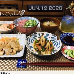 おうち時間/おうちタイム/フォロー大歓迎/ランチョンマット/ドン・キホーテ/セリア/...          6/18(金) 夕食 …