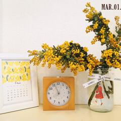 花/時計/AUDREY/フォロー大歓迎/ナチュラルキッチン/カレンダー/...        2020.3.1(日)  …