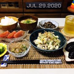 フォロー大歓迎/新鮮野菜/キッチン雑貨/ランチョンマット/至福の時間/おうちごはん/...         7/29(水) 夕食  …