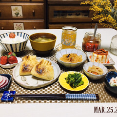 AJINOMOTO麻婆春雨中辛/ミモザ/KOMERI/フォロー大歓迎/至福の時間/おうちごはん/...         3/25(水) 夕食  …
