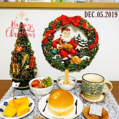 シャンブル/クリスマス/クリスマスツリー/クリスマス雑貨/朝食/おうちごはん/...         12/5(木) 朝食  …