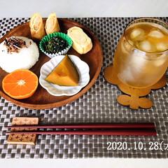フォロー大歓迎/リミとも部/暮らし/onigiriAction/おにぎりアクション/おにぎりアクション2020/...  10/28(水) 昼食 *生ふりかけ梅…