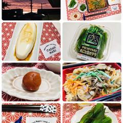 夕焼け/男前豆腐/牛角やみつきになる!丸ごと塩オクラ/ナチュラルキッチン/夕食/キャンドゥ/...                  9/2…