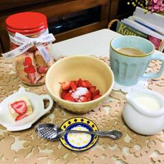 おやつ/いちごスプーン/AUDREY/チョコレート/フォロー大歓迎/スイーツ/...         3/23(土) おやつ …