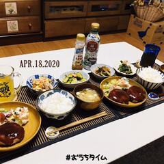 フォロー大歓迎/KOMERI/ランチョンマット/至福の時間/おうちタイム/おうちごはん/...         4/18(土) 夕食  …