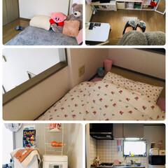 キッチン/IKEA/ロフト/娘部屋/フォロー大歓迎/ニトリ/...   娘部屋 2口焜炉と魚焼きグリル、収納…