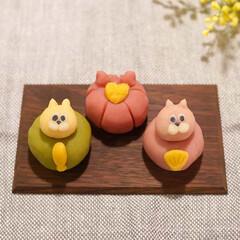 ひなまつり/おひなさま/練り切り/キャラスイーツ/キャラ和菓子/ワークショップ 先日、おひなさまの練り切りを作るワークシ…