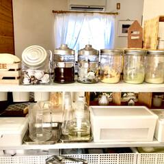 ダイソー/セリア/100均/DIY/キッチン雑貨/収納/... おはようございます❁⃘*.゚ キッチン前…(3枚目)