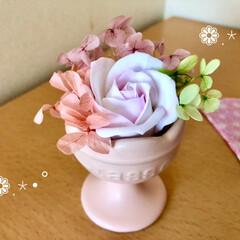 ひな祭り/ピンク/ダイソー/セリア/雑貨/ハンドメイド/... 🌸❁.*・゚ピンクdeひな祭り🌸❁.*・…(2枚目)