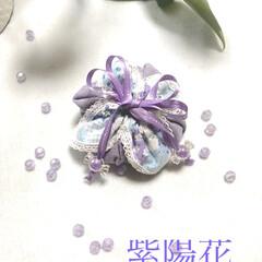 令和の一枚/フォロー大歓迎/LIMIA手作りし隊/ハンドメイド/ダイソー/セリア/... 紫陽花の巾着を手作りしました(*˘︶˘*…