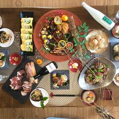 おせち料理/冬 毎年恒例おせち作り  今年は石のお皿で♡…(2枚目)