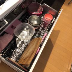 キッチン収納/引き出し収納/キッチン/キッチン引き出し/まな板/ボウル/...