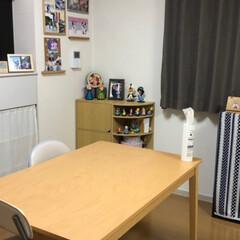 ニトリ/我が家のテーブル ずっと娘の簡単な学習机を食卓代わりにして…(2枚目)